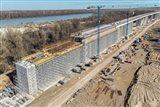 Nový viadukt Čortanovci na vysokorychlostním úseku Budapešť–Bělehrad
